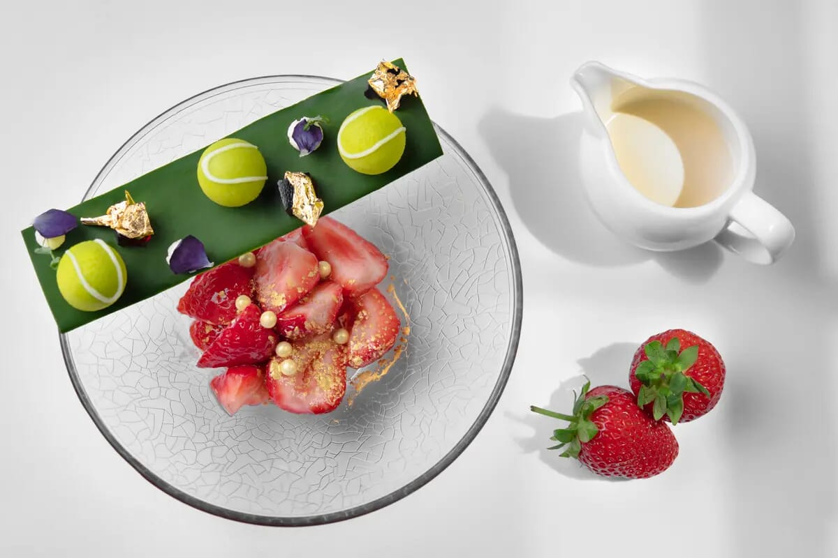 strawberries wimbledon dessert london food photographer tennis