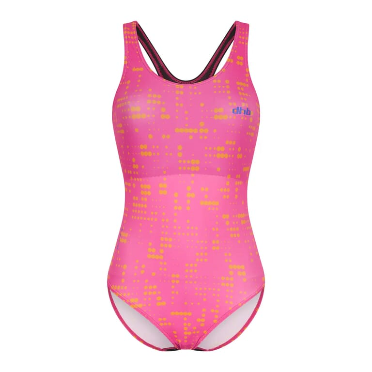 105085767 105085784 Moda Muscleback Swimsuit PinkOrange 003