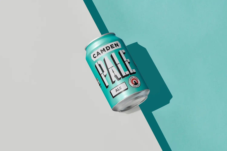 Camden Pale ale beer camden town brewery creative still life photographer
