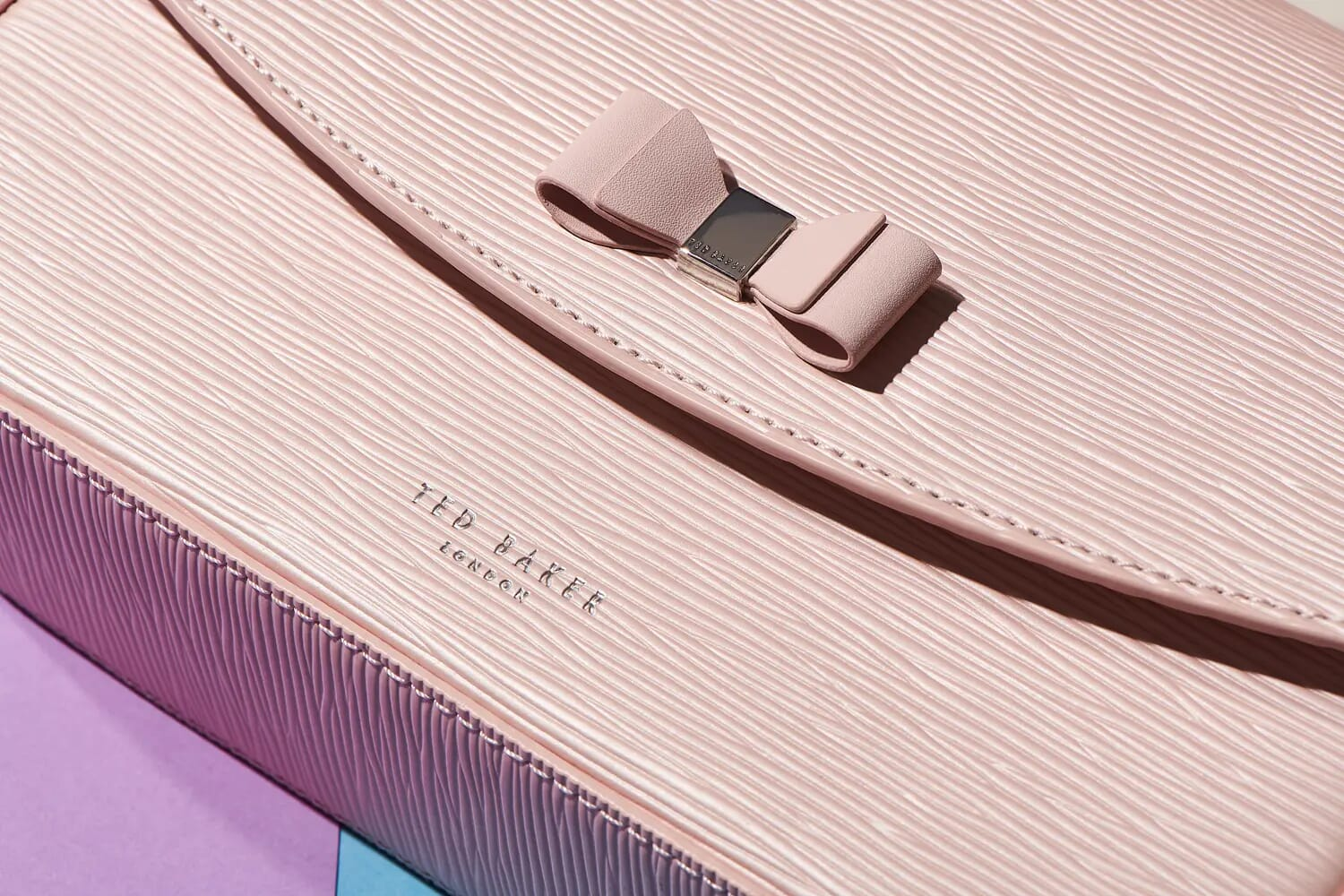 ted baker pink purse macro detail shot london still life and creative photographer